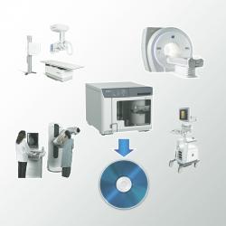 Software integrare DICOM pentru CD/DVD Disc publisher EPSON