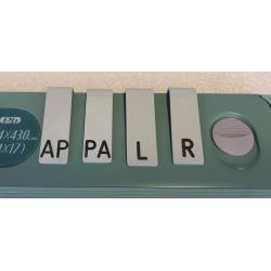 Indicatori pentru casete radiologice L R AP PA
