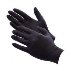 Manusi examinare nitril nepudrate neagra