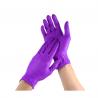Manusi examinare nitril nepudrate violet