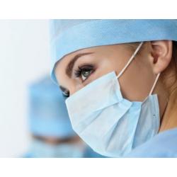 Masti chirurgicale faciale din 3 straturi cu elastic
